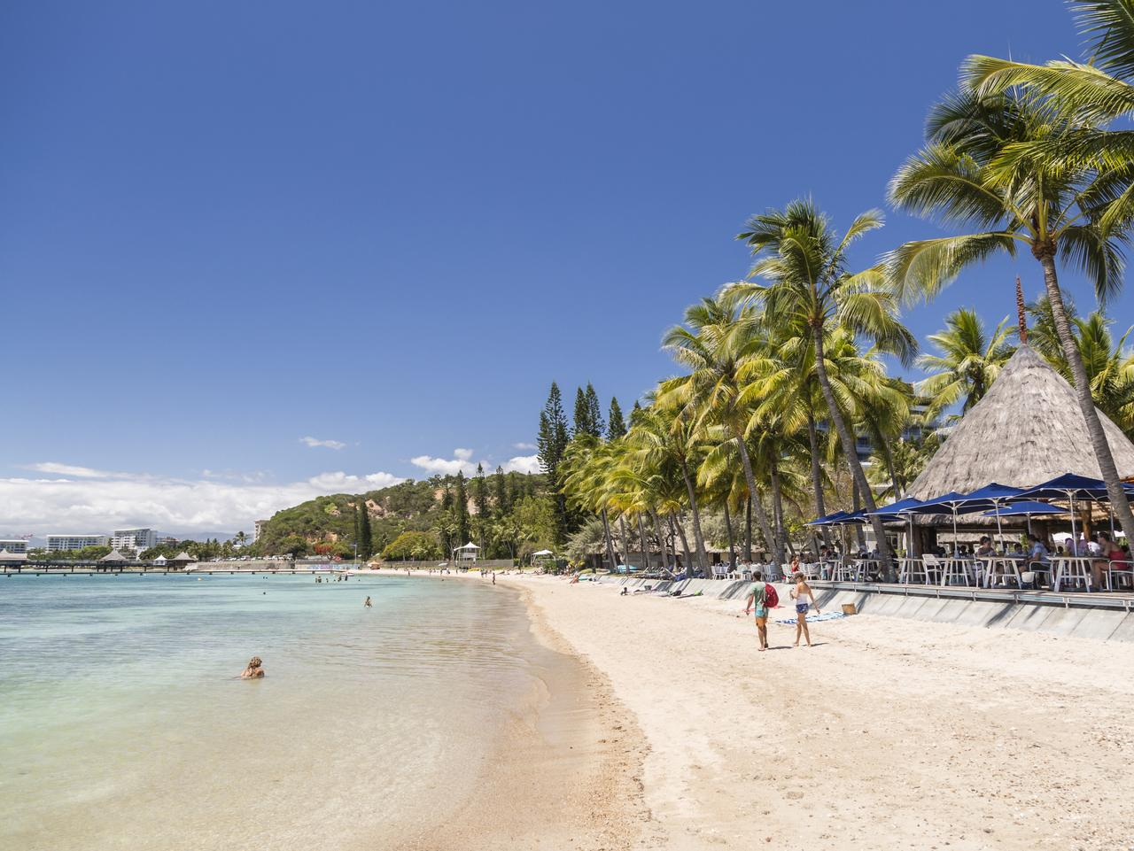 Beach at Noumea. Picture: tourism new caledonia  Craig Tansley, FAQ New Caledonia, Sunday Escape