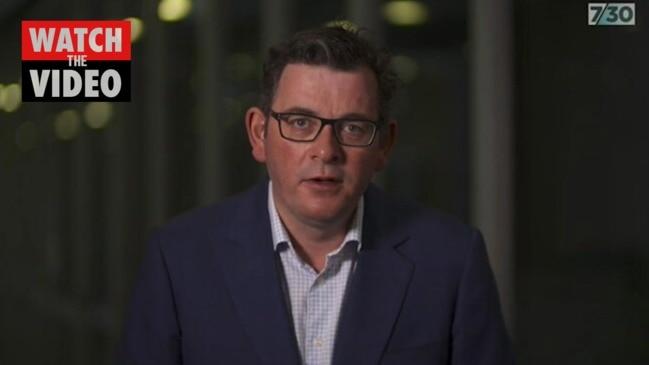 Daniel Andrews defends contact tracing (7:30 Report)
