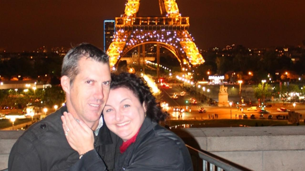 Julie Goodwin and her husband, Michael, finally ticked off their bucket-list trip to Paris.