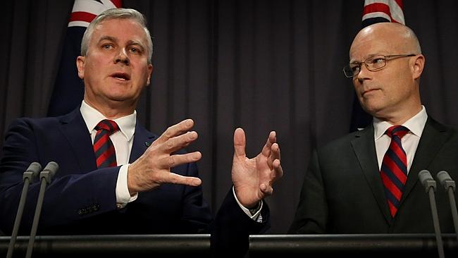 Minister for Small Business Michael McCormack, and Alastair MacGibbon, special adviser to Prime Minister on cyber security, were busy trying to explain what went wrong with the Census yesterday.