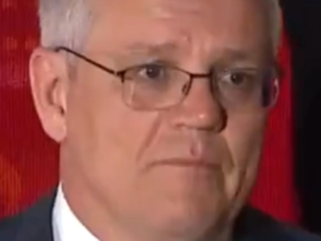 Scott Morrison press conference in the states