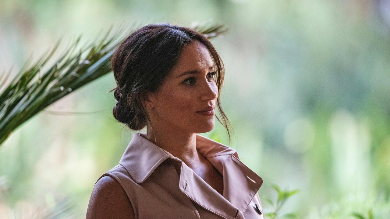 Meghan Markle has spoken about the dangers of social media. Picture: Michele Spatari/AFP