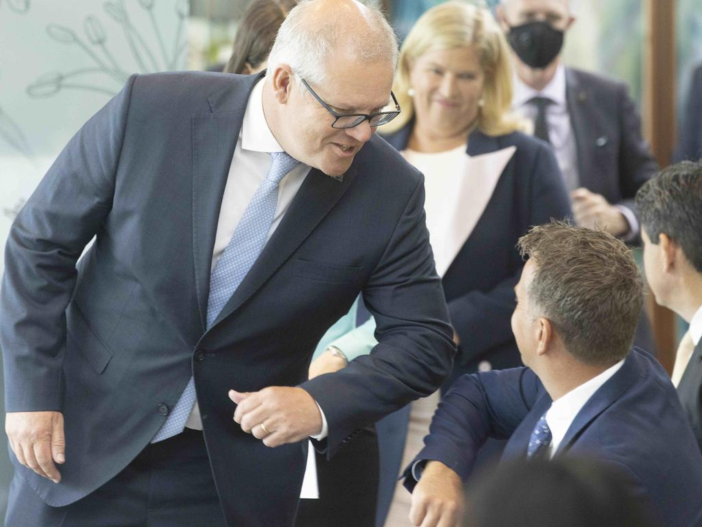 Prime Minister Scott Morrison will kick off the parliamentary year with a speech at the National Press Club on Monday. Picture: Pool via NCA NewsWire / Jenny Evans