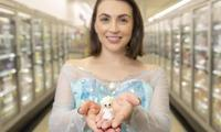 An Elsa glitter Ooshie is on eBay for a cool $15,000