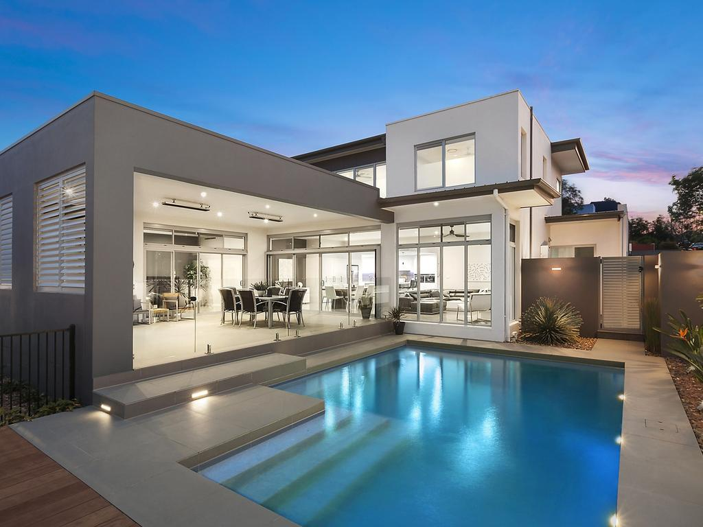 The pool at Bella Vista Waters has been designed to provide a waterview