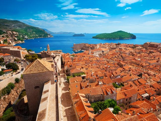 They've been to the hot spot of Dubrovnik, Croatia.