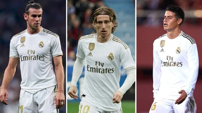 Some big names could be headed for the exit at Real Madrid.