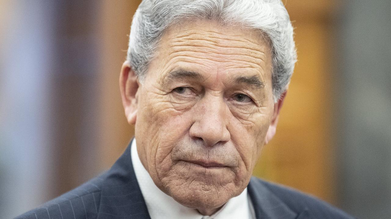 Deputy Prime Minister Winston Peters is against a name change. Picture: Kevin Stent – Pool/Getty Images.