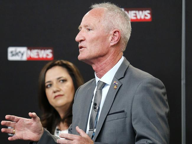 One Nation's Queensland leader Steve Dickson said he would work with anyone who would work with him. Picture: Josh Woning/AAP