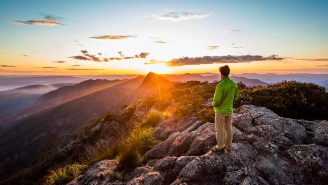 Mt Barney, Queensland Picture: Lachlan Gardiner