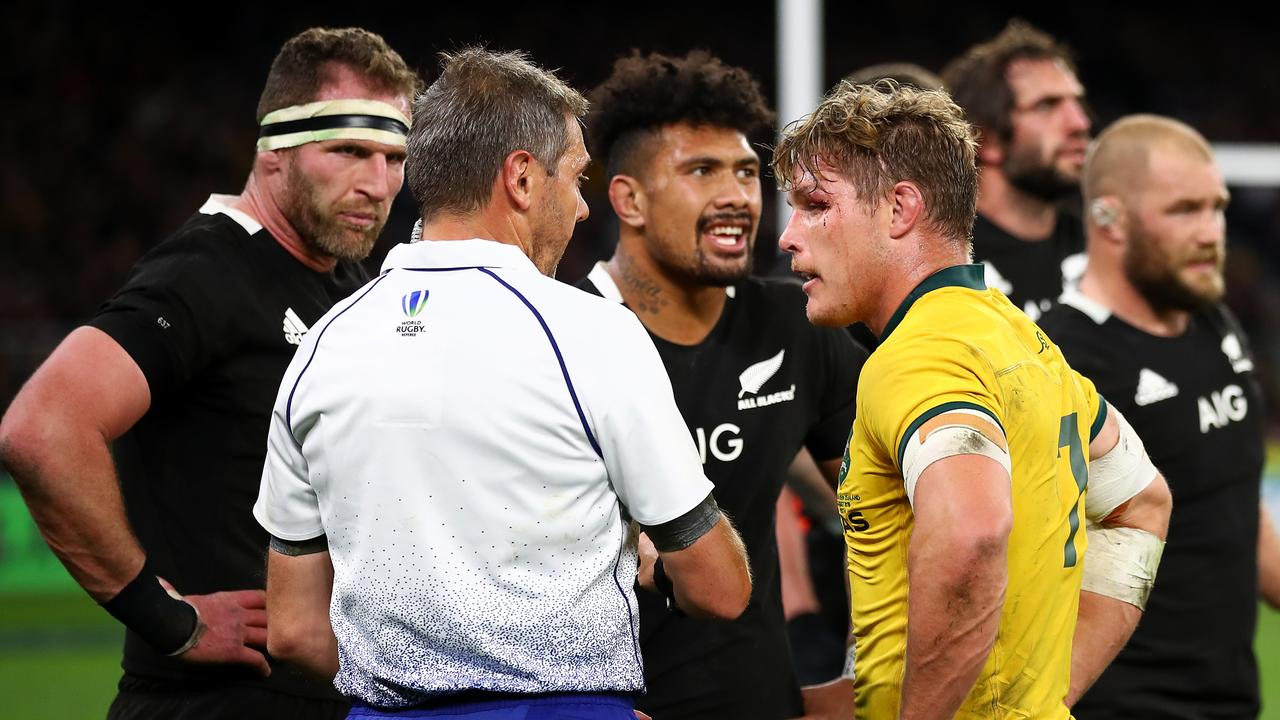 French trio, Skeen to referee Wallabies World Cup quarter-final showdown against England