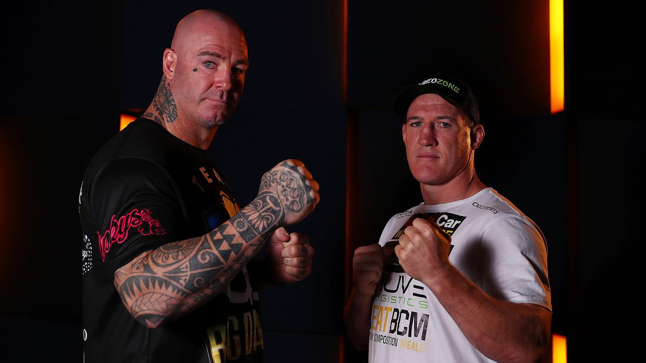 Lucas Browne wants to knock out Paul Gallen in Wollongong on Wednesday.