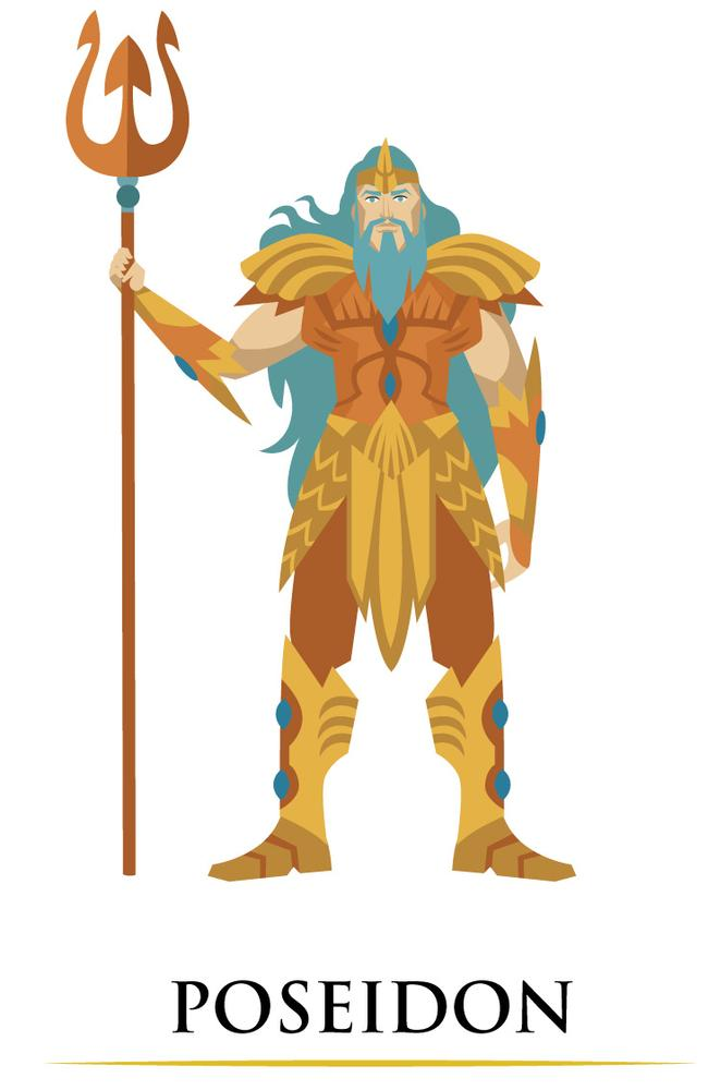 Poseidon, the God of the Sea
