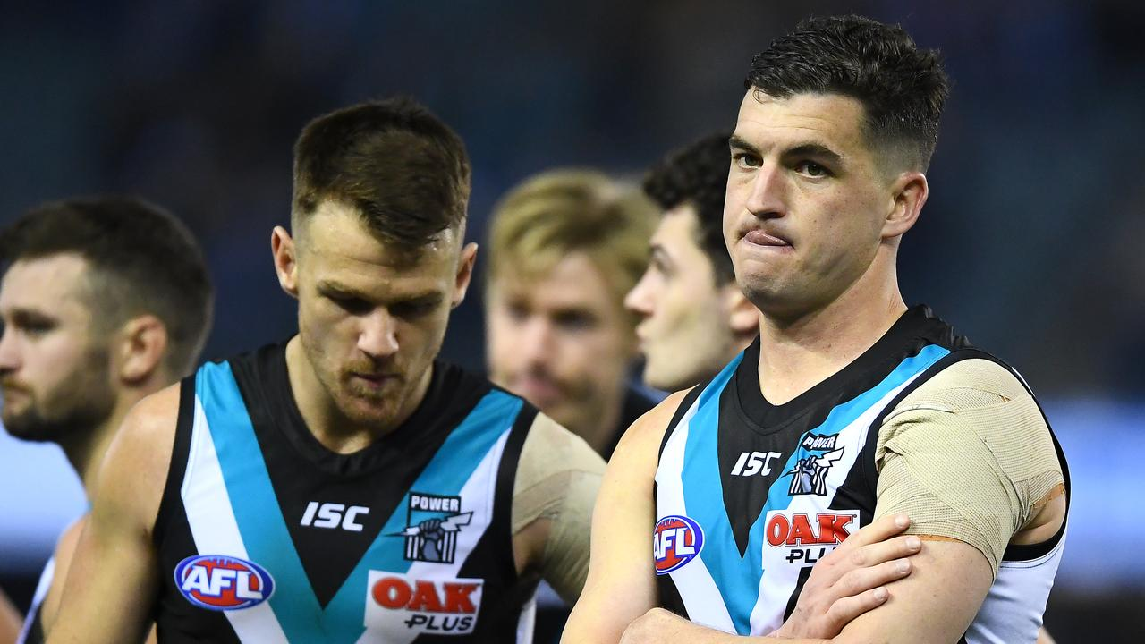 AFL 2019: 'Pathetic' Port Adelaide slammed as Crows leapfrog Power