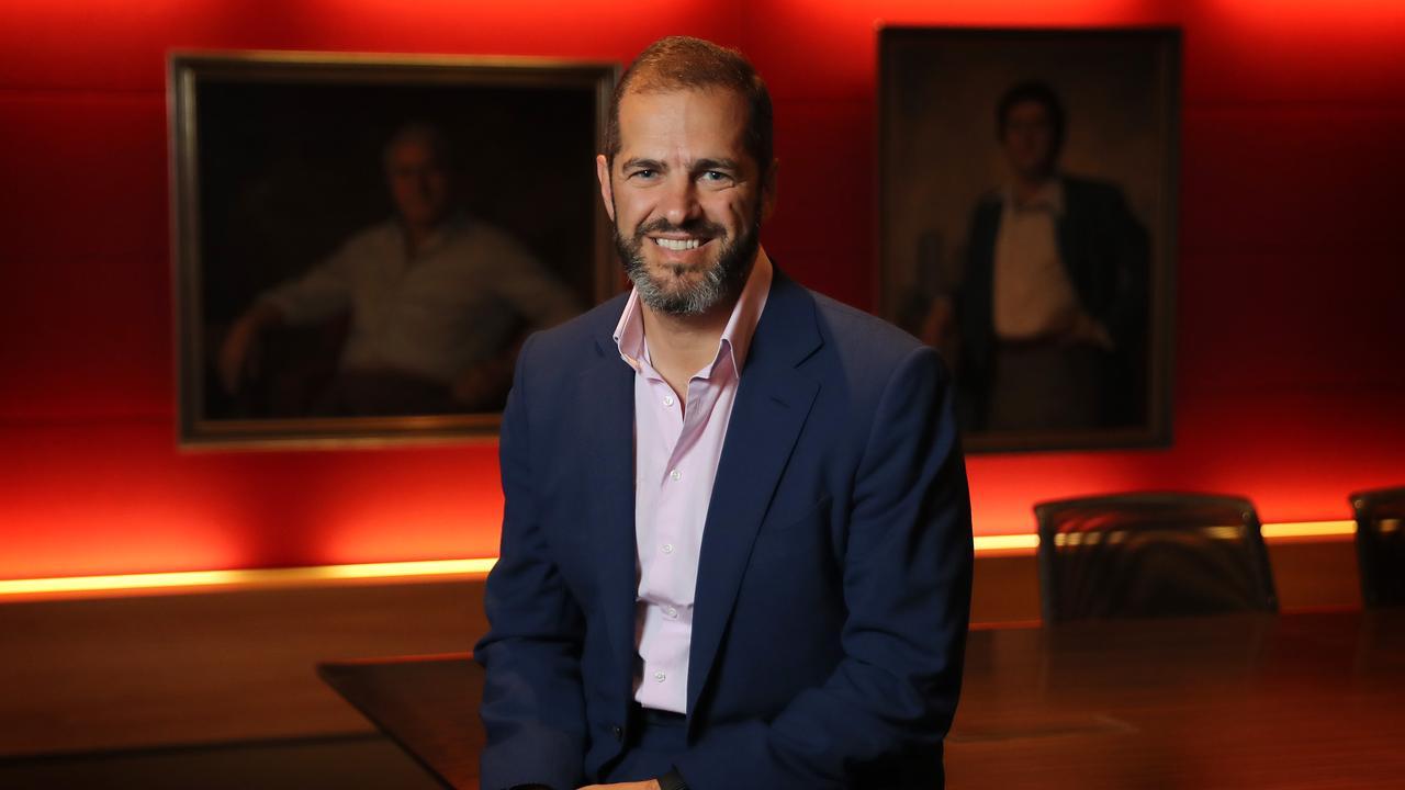 Daniel Grollo the former boss of Grocon. Picture: Stuart McEvoy for The Australian.