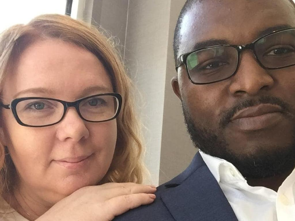 Australian Lisa Cunningham and her American husband Germayne, who have both been charged with the first-degree murder of his daughter Sanaa. Picture: Supplied