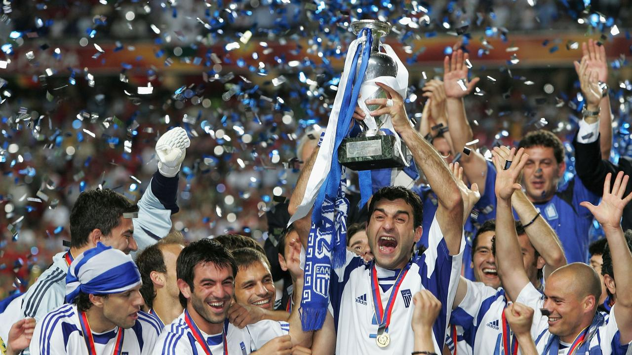 Greece pulled off a huge shock in 2004.