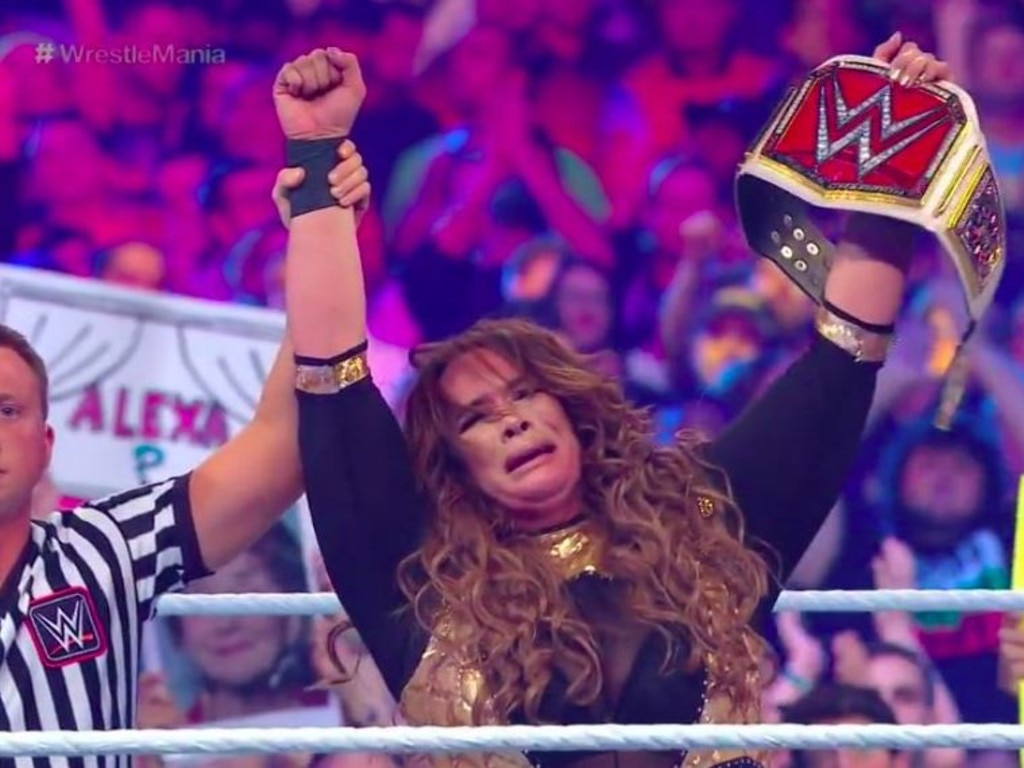 Nia Jax claimed an emotional victory.