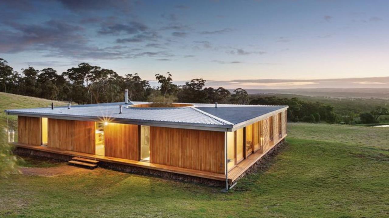 "No. <a href=""https://www.realestate.com.au/property-house-vic-buninyong-135868666"" target=""_blank"">15 Ogilvie Lane, Buninyong</a>, is priced at $1.5m-$1.65m."