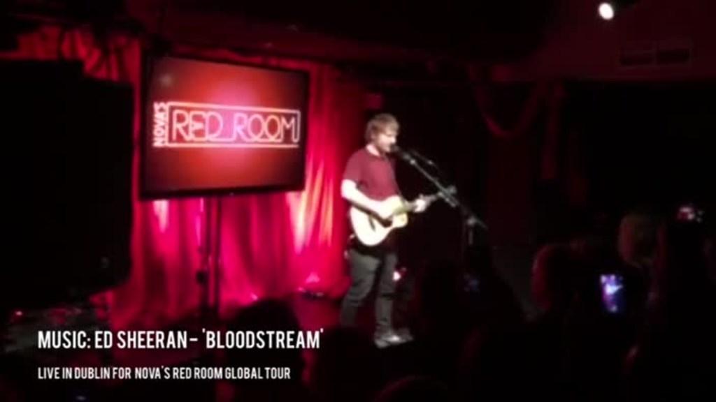 Ed Sheeran Live in Dublin