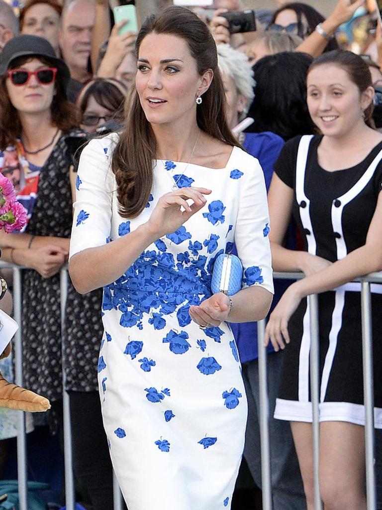 Kate in Brisbane in 2017 wearing a similar design. Picture: Bradley Kanaris/Getty Images.