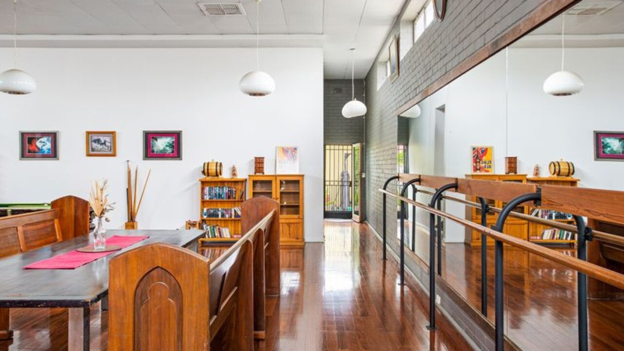 It has three bedrooms and one bathroom. Pic: realestate.com.au