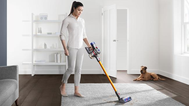 Dyson stick vacuum cleaners are copping a lot of criticism for something that's pretty widely considered to be excellent.