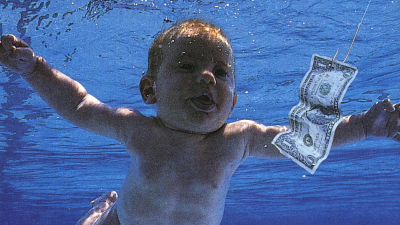 The original cover of Nevermind in 1991.