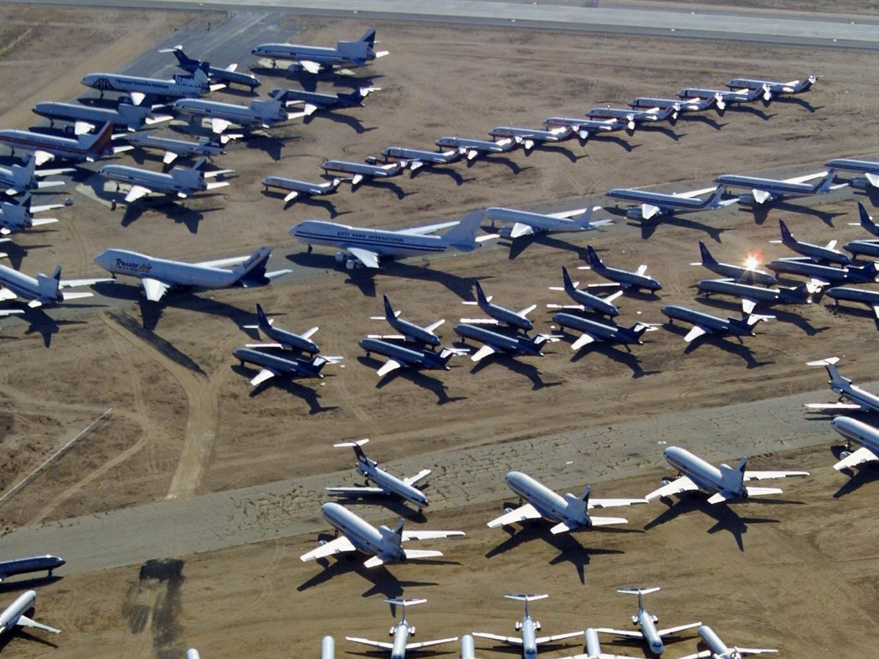 Airplane Graveyard in California