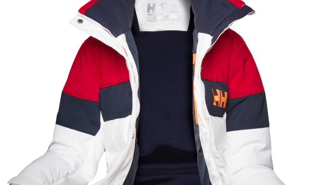 The Helly Hansen JR Diamond Jacket is a great choice for kids. Picture: Supplied