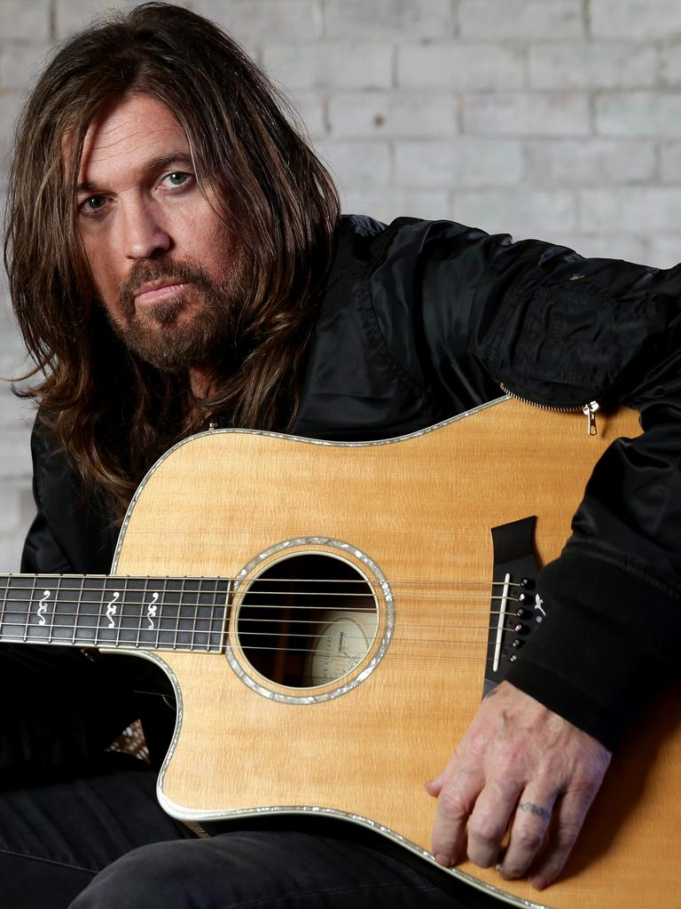 Billy Ray Cyrus has another hit on his hands. Picture: Jonathan Ng