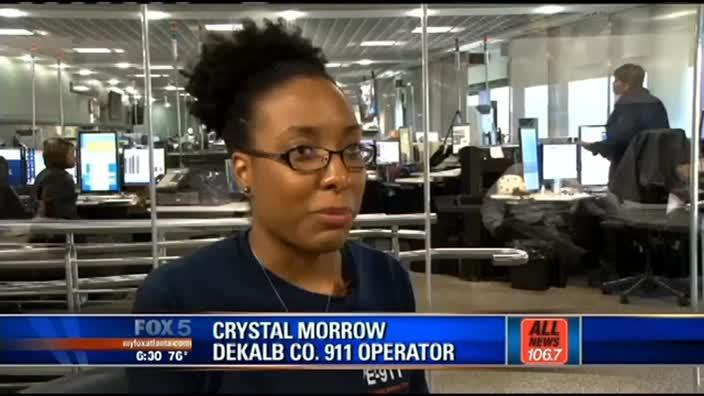 911 operator saves dad's life on first day