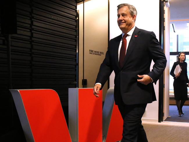 Westpac Chief Executive Officer Brian Hartzer. Picture: AAP