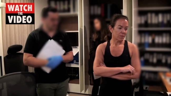 ASIC's raid on Melissa Caddick's house