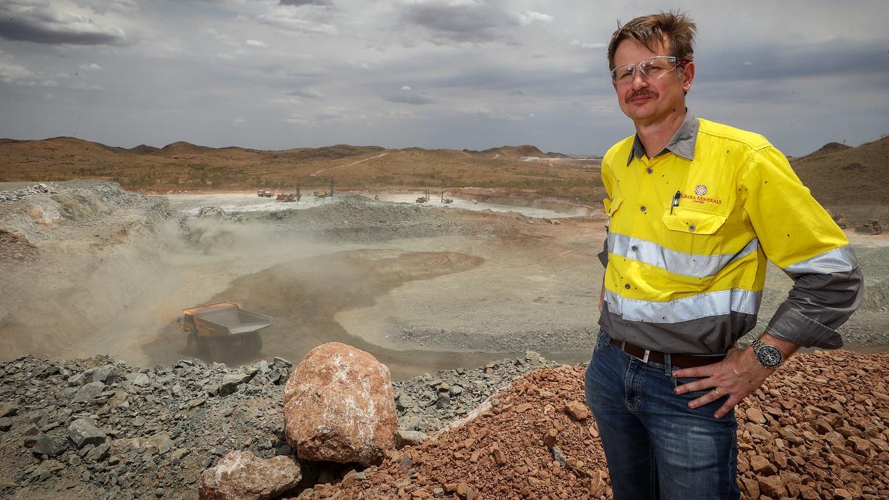 Pilbara Minerals boss Ken Brinsden says the sector can do better when it comes to women. Picture: Colin Murty / The Australian