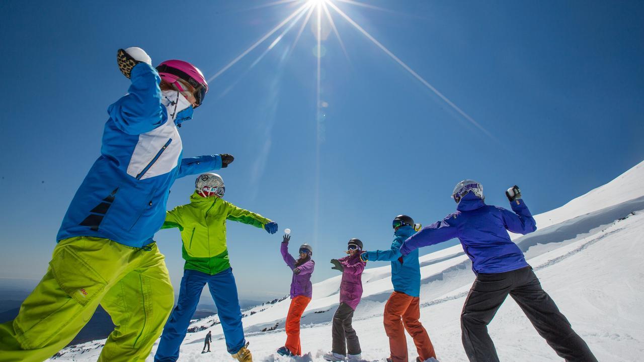 Turoa Ski Area, North Island, New Zealand. Picture: Ruapehu Sunday EScape cover story, NZ snow, John Corbett
