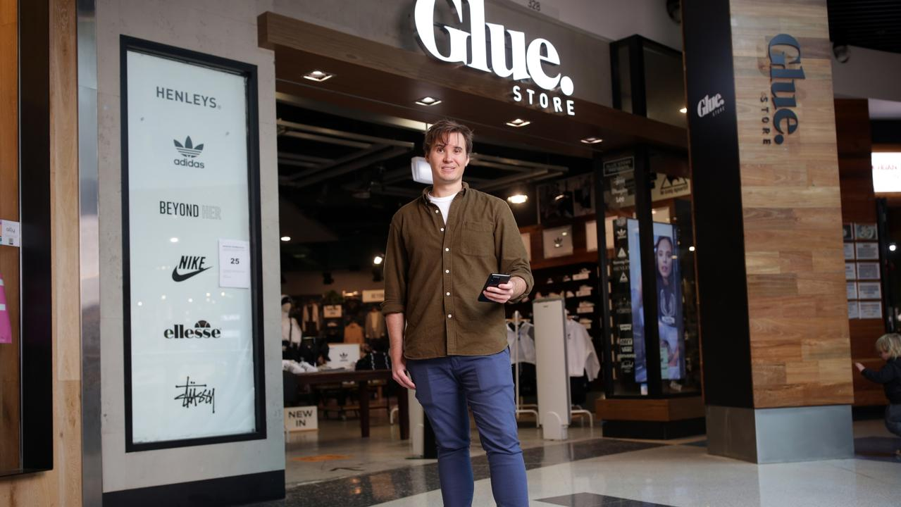 The owner of The Athlete's Foot is buying youth retailer Glue Store. Picture: Christian Gilles