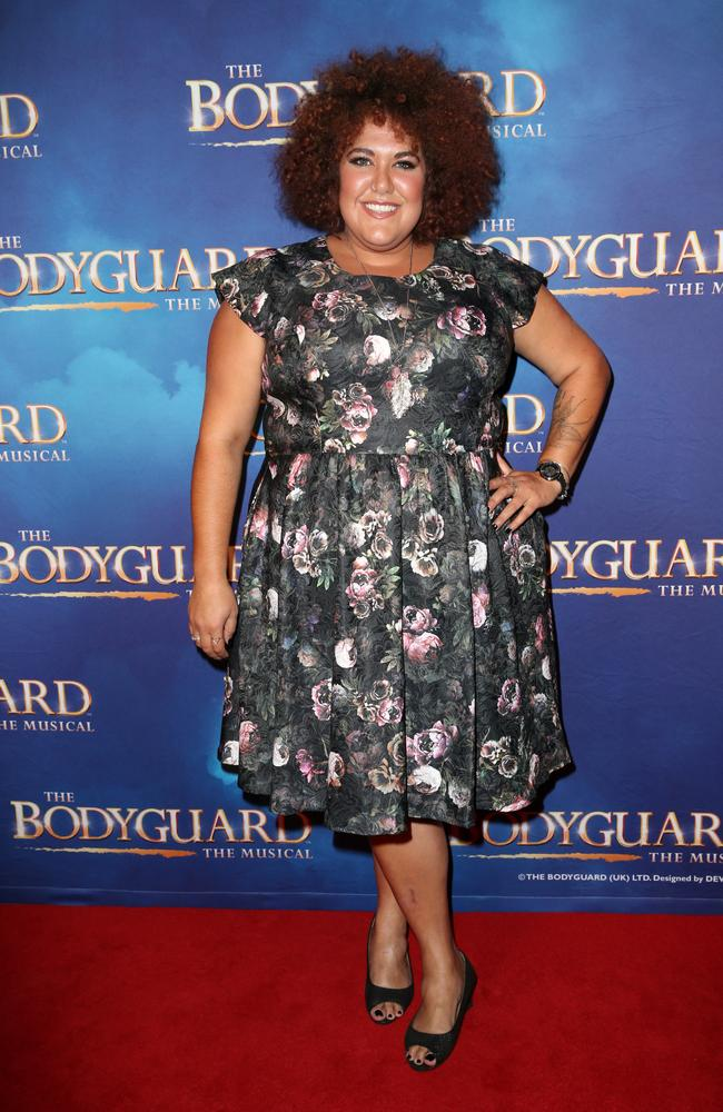 Casey Donovan at the The Bodyguard Premiere held at the Sydney Lyric Theatre in Pyrmont. Picture: Christian Gilles