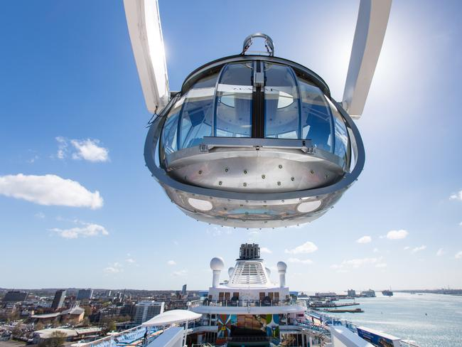 North Star capsule is breaking cruise ship records.
