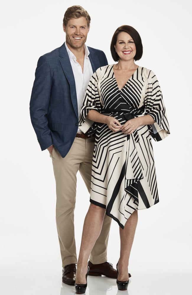 Dr Chris Brown and Julia Morris host I'm A Celebrity … Get Me Out Of Here!