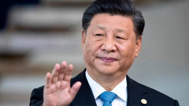 Chinese President Xi Jinping head the Chinese Communist Party which imposed the national security laws on Hong Kong last year. Picture: AP