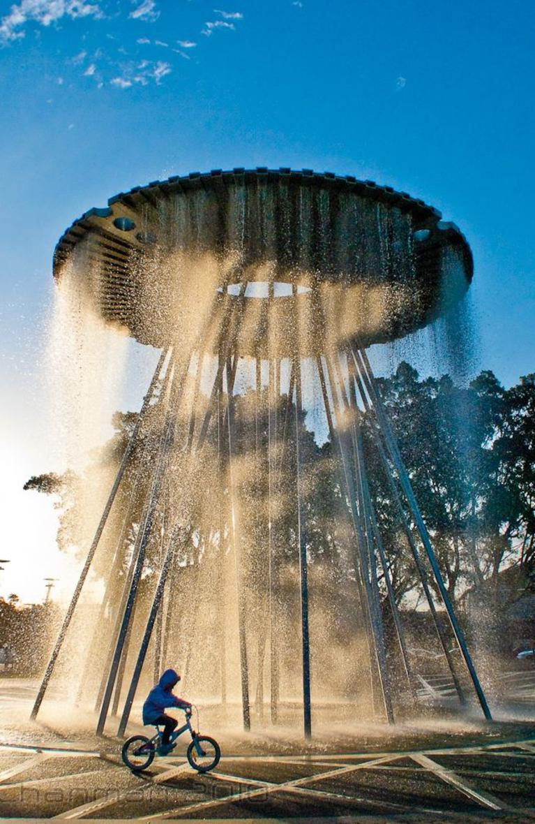 Supplied Travel SUNDAY ESCAPE. Olympic cities. Sydney. Olympic cauldron. Picture: Michael Chan / Flickr