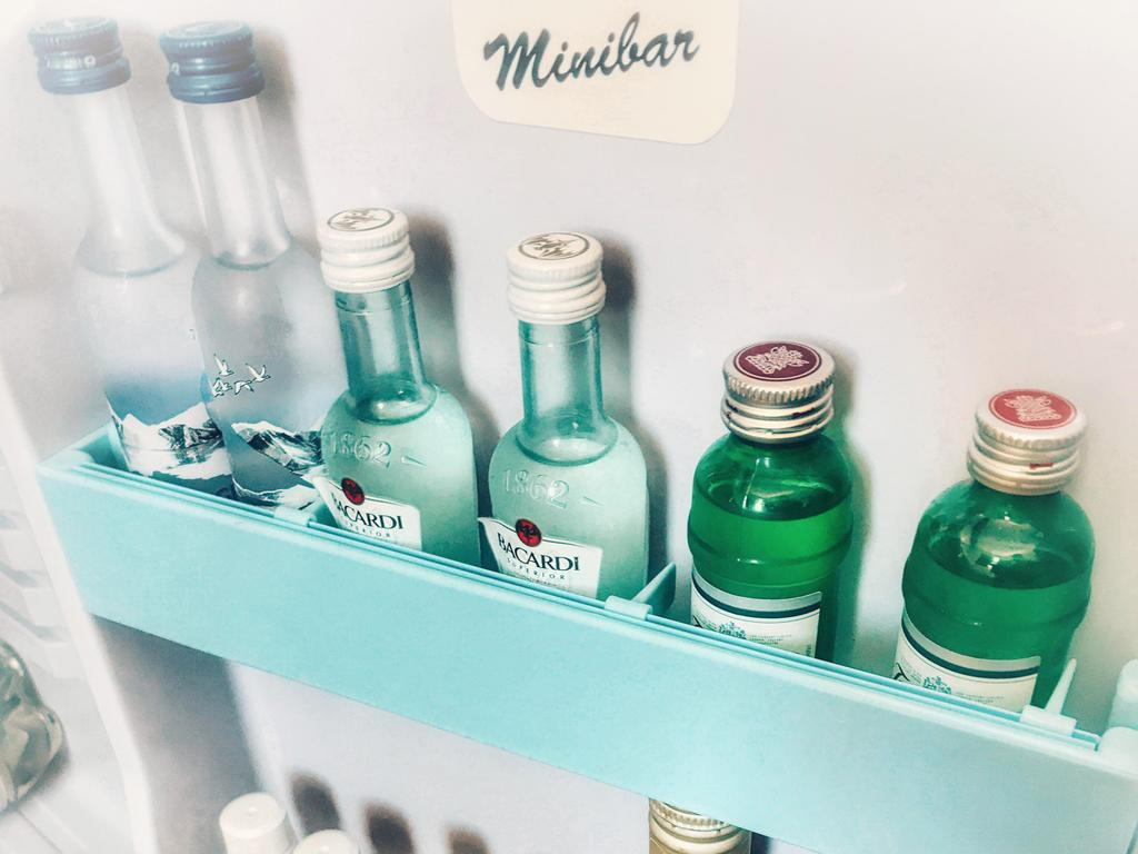The hotel room minibar is generally treated with suspicion. Picture: Alamy
