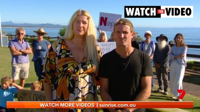 Locals organise protest to stop Netflix's Byron Baes reality show (Sunrise)