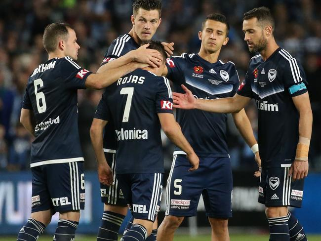 Melbourne Victory just couldn't get the job done.