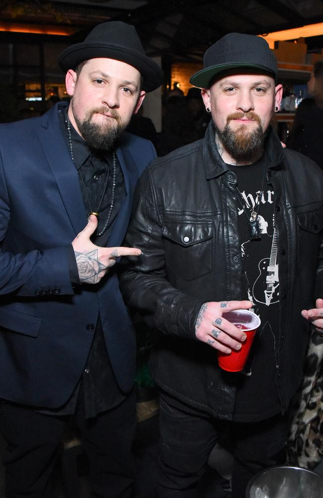 Joel and Benji Madden pictured in 2017. Picture: Getty Images.