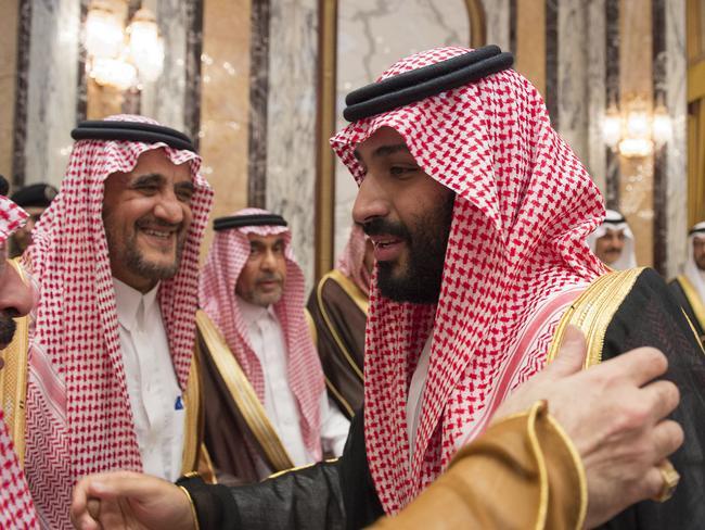 Crown Prince Mohammed bin Salman. Picture: AFP