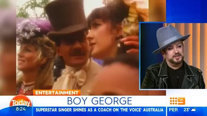 Boy George appears on The TODAY Show