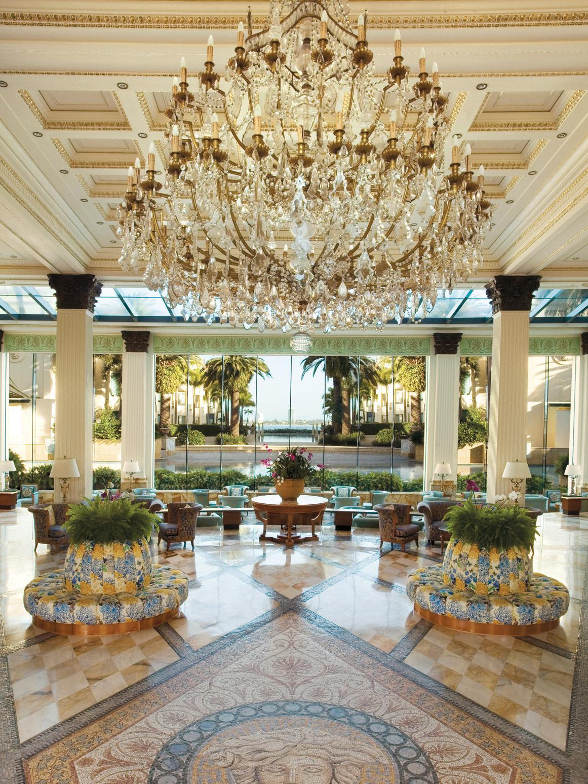 PALAZZO VERSACE GOLD COAST for Lindsay Saunders story .. Lobby Chandelier Picture: Supplied