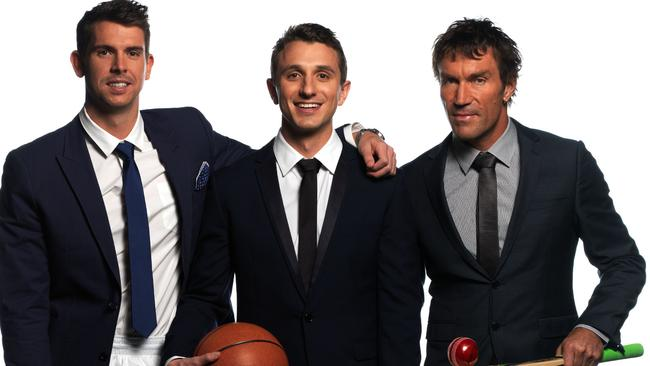 A League of their Own starred Eamon Sullivan, Tommy Little and Pat Cash.